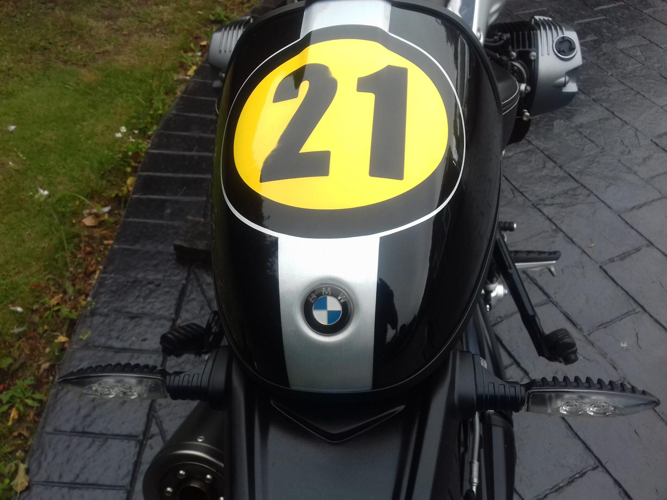 2018 BMW R NINE T R9T HERITAGE 21 PAINT SCHEME
