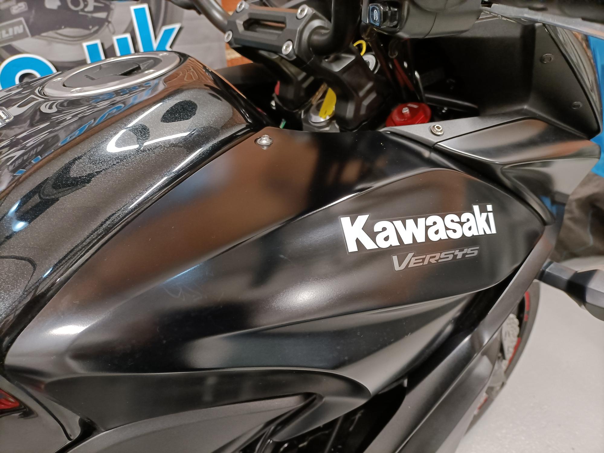 KAWASAKI KLE 650 VERSYS ABS FULL LUGGAGE ECONOMICAL TOURER